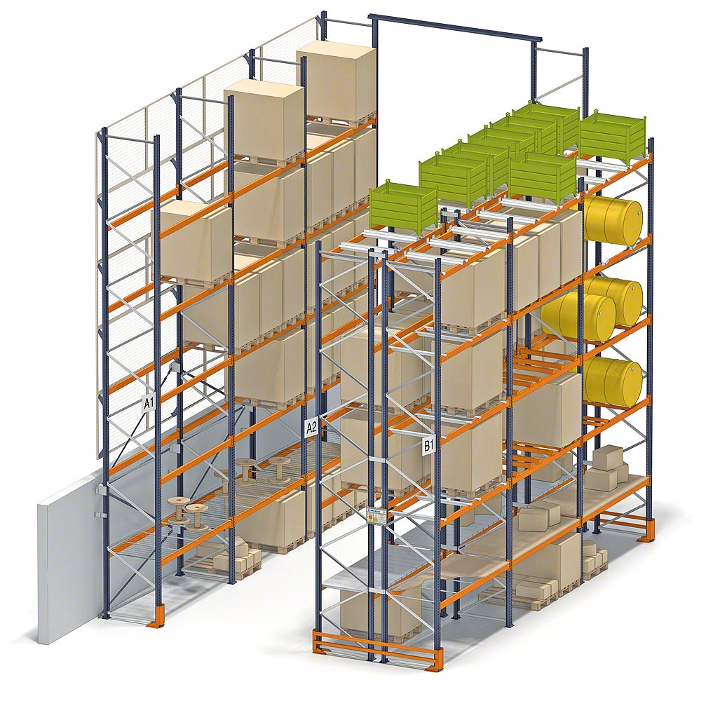 Pallets size and use requirements