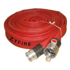 What is the flow rate of a fire hose